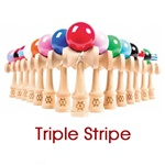 kendama triple stripe
