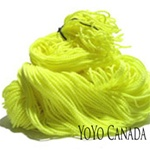 Yellow 100% Poly String